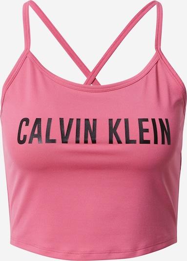 Calvin Klein Performance Спортен топ в розово / черно, Преглед на продукта