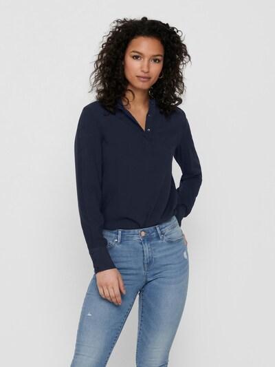 ONLY Bluse 'Mimi' in nachtblau: Frontalansicht
