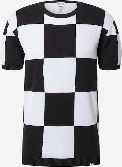 ABOUT YOU x Benny Cristo Trui 'Bastian' in de kleur Zwart / Wit, Productweergave