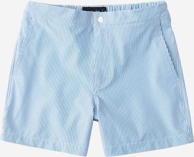 Abercrombie & Fitch Zwemshorts in de kleur Blauw / Wit, Productweergave
