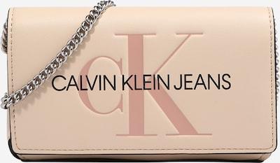 Borsa a tracolla Calvin Klein Jeans di colore beige chiaro / rosa antico / nero, Visualizzazione prodotti