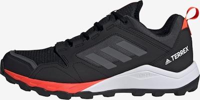 adidas Terrex Laufschuh in anthrazit / silbergrau / orangerot / schwarz / weiß, Produktansicht