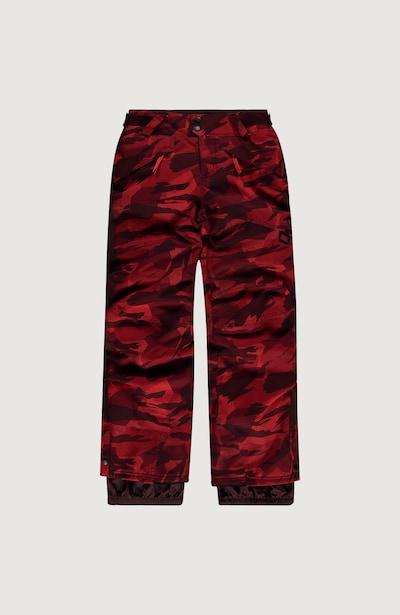 O'NEILL Skihose in rot / schwarz, Produktansicht
