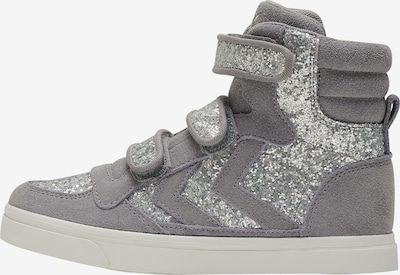 Hummel Sneaker in grau / silber, Produktansicht