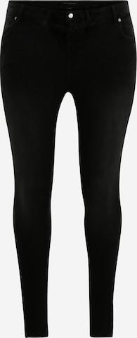 ONLY Carmakoma Jeans 'KARLA' in Schwarz