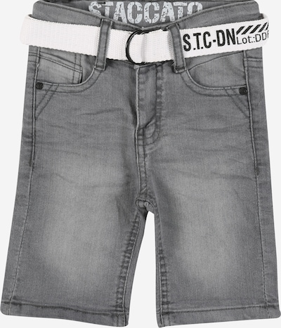 STACCATO Shorts in grey denim, Produktansicht