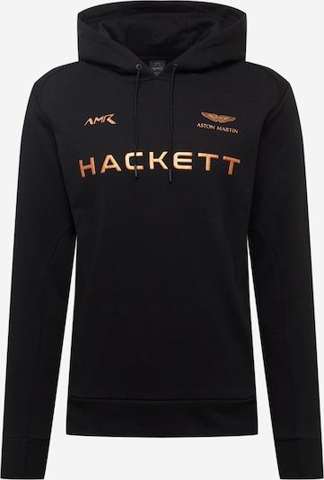 Hackett London Sweatshirt in goldgelb / schwarz, Produktansicht