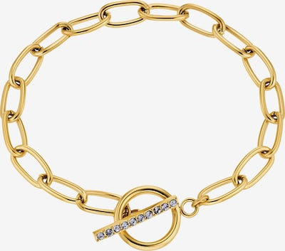 NOELANI Armband in goldgelb / lila, Produktansicht