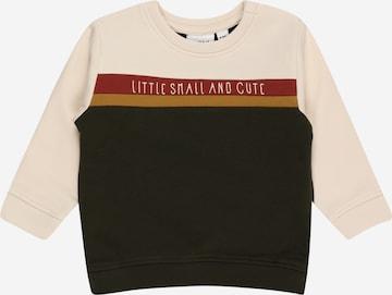 NAME IT Sweatshirt 'NILS' in Brown