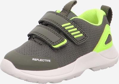 SUPERFIT Zapatillas deportivas 'RUSH' en caqui / lima, Vista del producto