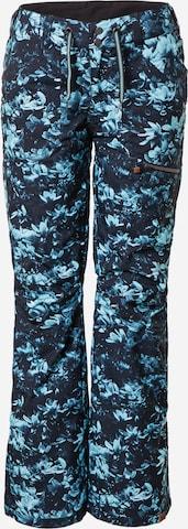 ROXY Spodnie outdoor 'NADIA' w kolorze czarny