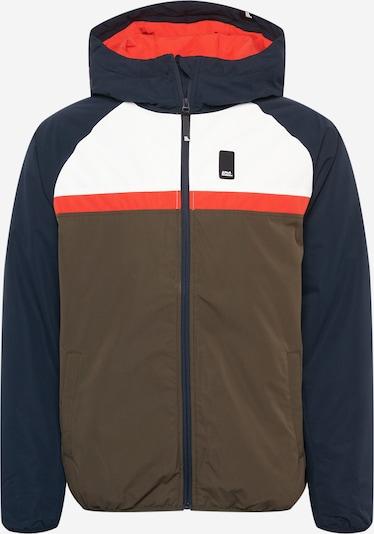 Alife and Kickin Between-Season Jacket 'Mr Diamond' in Dark blue / Khaki / Orange / White, Item view