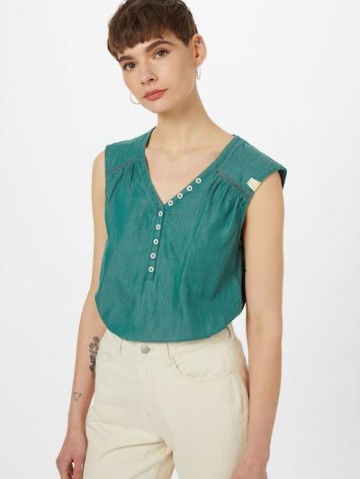 Ragwear Bluse in grün, Modelansicht