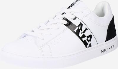 NAPAPIJRI Sneaker 'BIRCH01' in schwarz / weiß, Produktansicht
