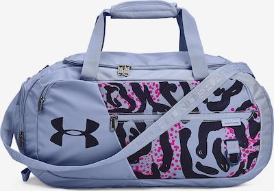 UNDER ARMOUR Sporttasche 'Undeniable' in blau / fuchsia / schwarz, Produktansicht