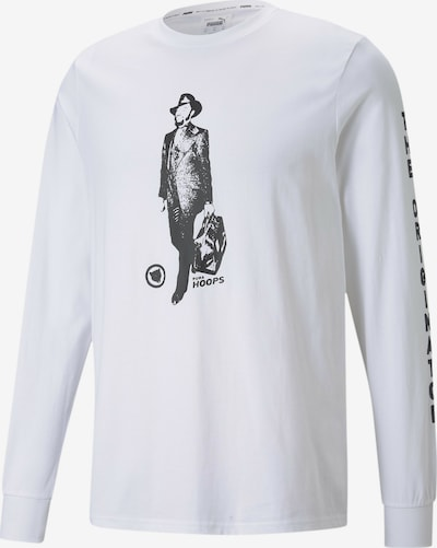 PUMA Funktionsshirt 'Franchise' in schwarz / weiß, Produktansicht