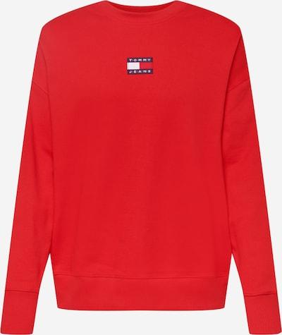 Tommy Jeans Sweatshirt in dunkelblau / rot / weiß, Produktansicht