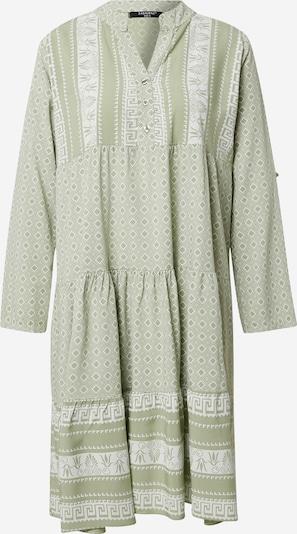 ZABAIONE Kleid 'Eliza' in grün / weiß, Produktansicht