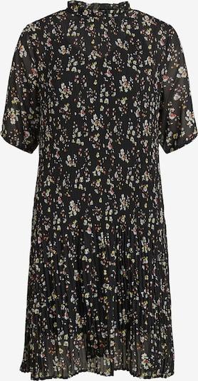 VILA Kleid 'Blossoms' in gelb / rostrot / schwarz / weiß, Produktansicht