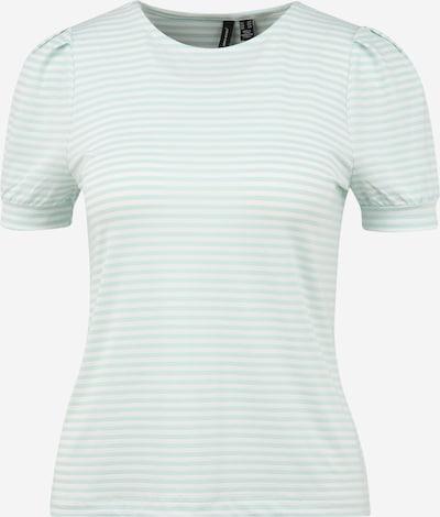Vero Moda Petite T-Shirt 'KATE' in mint / offwhite, Produktansicht
