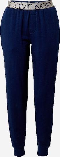 Calvin Klein Underwear Pyjamahousut värissä laivastonsininen / hopea, Tuotenäkymä