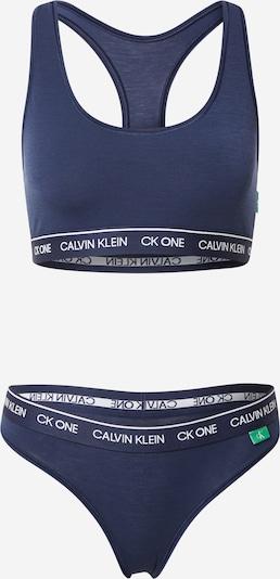 Seturi de lenjerie Calvin Klein Underwear pe bleumarin / alb, Vizualizare produs