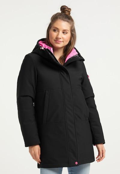 MYMO Mantel in schwarz, Modelansicht