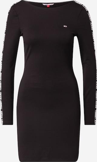 Tommy Jeans Φόρεμα σε μαύρο / λευκό, Άποψη προϊόντος