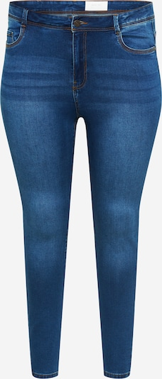 Noisy May Curve Jean 'AGNES' en bleu denim, Vue avec produit