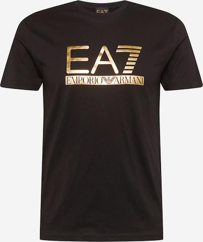 EA7 Emporio Armani Shirt in de kleur Goud / Zwart, Productweergave