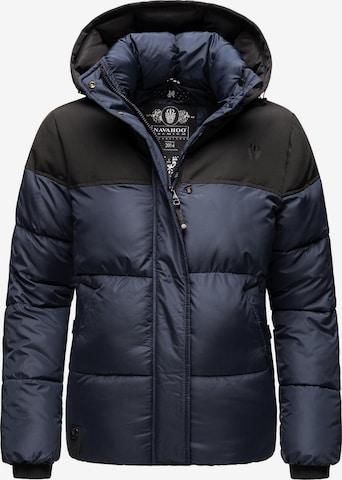 NAVAHOO Winter Jacket 'Sarafina' in Blue