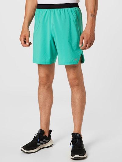 Reebok Sport Športové nohavice - tyrkysová / čierna, Model/-ka