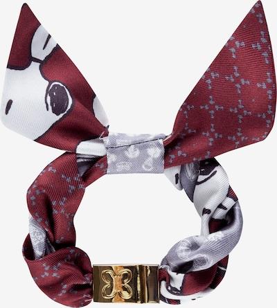 CODELLO Armband in dunkelrot, Produktansicht