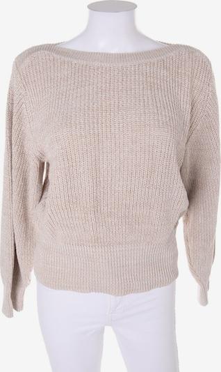 NA-KD Pullover in M in beige, Produktansicht