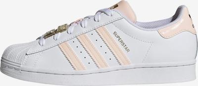 ADIDAS ORIGINALS Sneaker 'Superstar' in pfirsich / weiß, Produktansicht