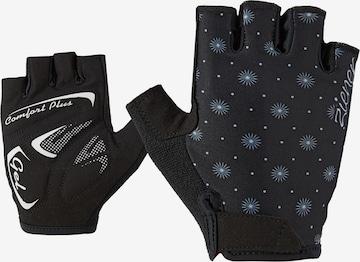 ZIENER Athletic Gloves 'CALINDA' in Black
