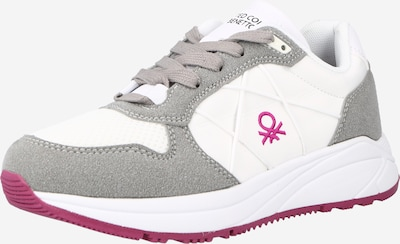 Benetton Footwear Sneaker 'ASCENT' in creme / grau, Produktansicht