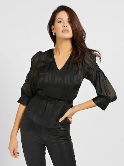 GUESS Bluse in schwarz, Modelansicht