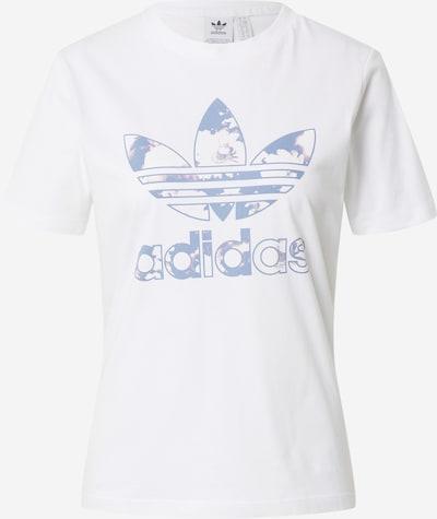 Tricou ADIDAS ORIGINALS pe albastru porumbel / alb, Vizualizare produs