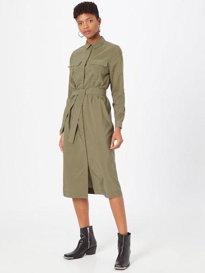 Pepe Jeans Kleid 'Isabella' in oliv, Modelansicht