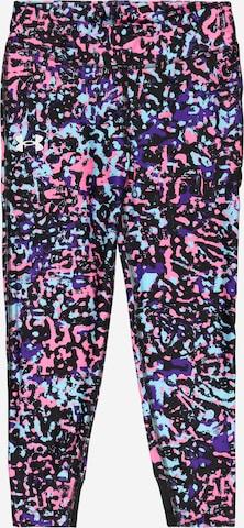 Pantalon de sport UNDER ARMOUR en mélange de couleurs