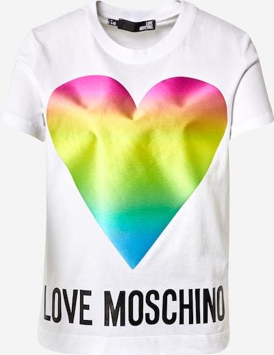Love Moschino Camiseta en mezcla de colores / blanco, Vista del producto