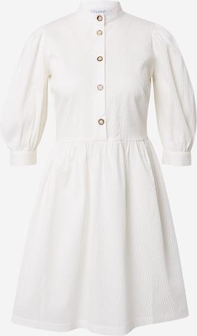 Abito camicia di Closet London in bianco