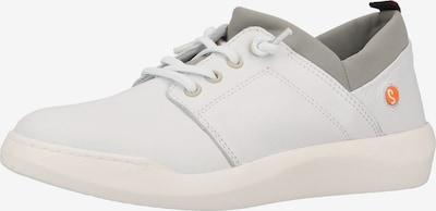 Softinos Baskets basses en gris / blanc, Vue avec produit