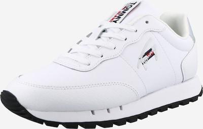 Sneaker low Tommy Jeans pe argintiu / alb, Vizualizare produs