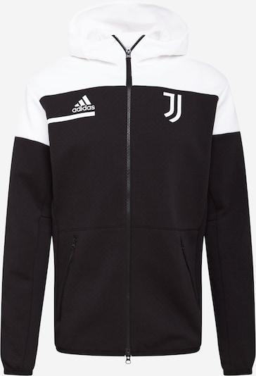 ADIDAS PERFORMANCE Vestes d'entraînement 'Juventus Turin Anthem' en noir / blanc, Vue avec produit