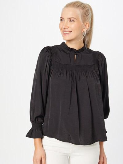 Bluză 'Emily' Cream pe negru, Vizualizare model