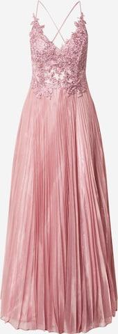 LUXUAR Večerné šaty - ružová