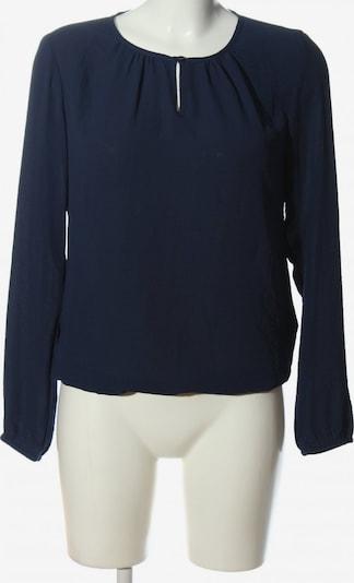 EDC BY ESPRIT Langarm-Bluse in XS in blau, Produktansicht