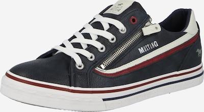 MUSTANG Šnurovacie topánky - námornícka modrá / červená / biela, Produkt